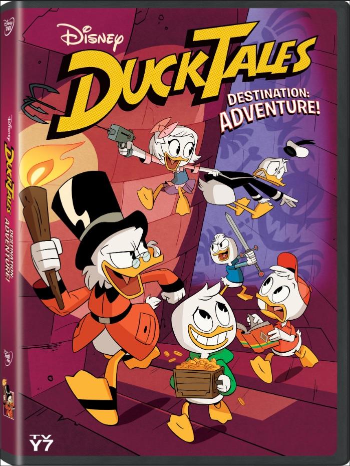 DuckTales Destination Adventure on DVD