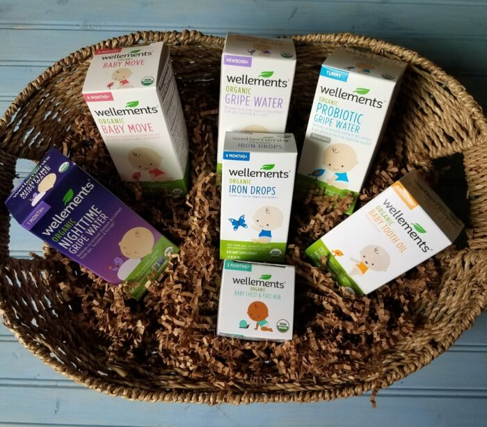 Organic Wellness Gift Basket for Babies