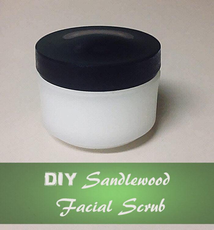 DIY Sandlewood Facial Scrub