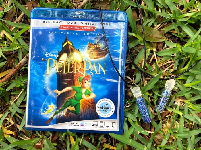 Peter Pan Printables and DIY Pixie Dust Necklaces