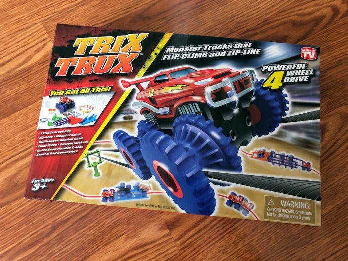 Trix Trux are Monster Trucks that Climb, Flip, Zip Line & More!