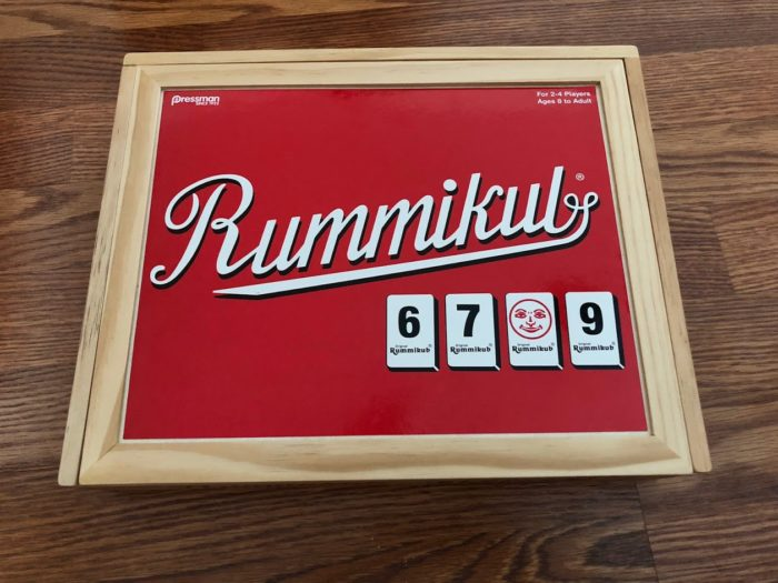 Special Edition Rummikub in a Wooden Box for Hours of Family Fun