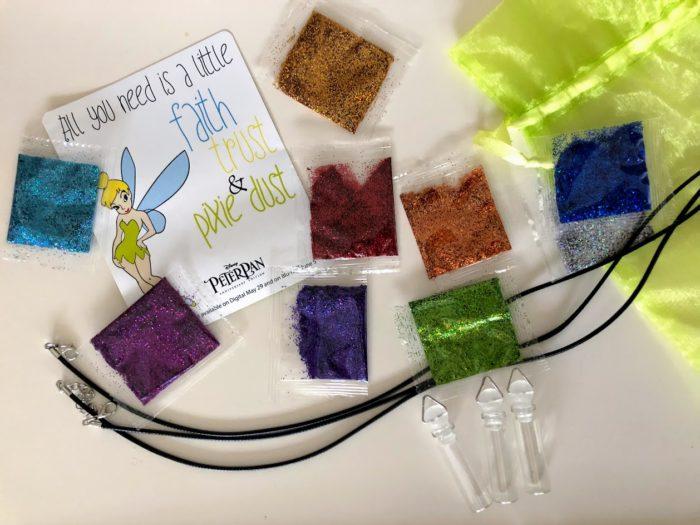 Peter Pan Printables & DIY Pixie Dust Necklaces