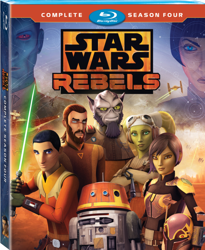 Star Wars Rebels: Complete Season Four on Blu-ray/DVD