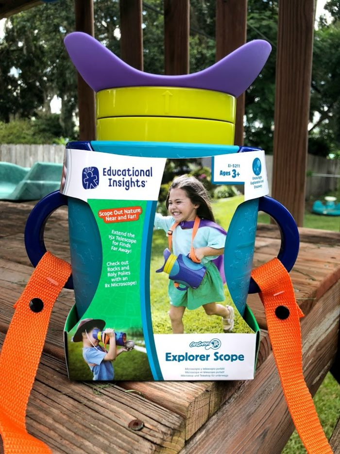 See Up Close & Far Away This Summer With The GeoSafari Jr. Explorer Scope
