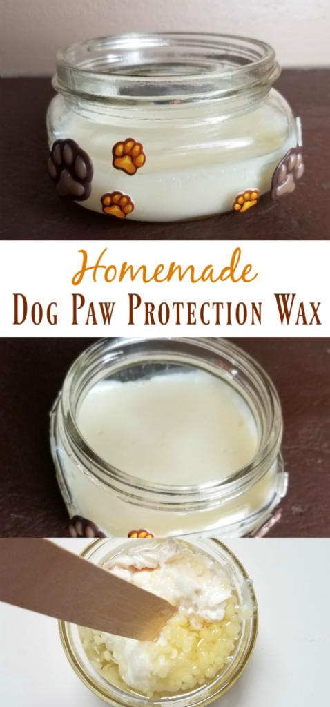 Homemade Dog Paw Protection Wax