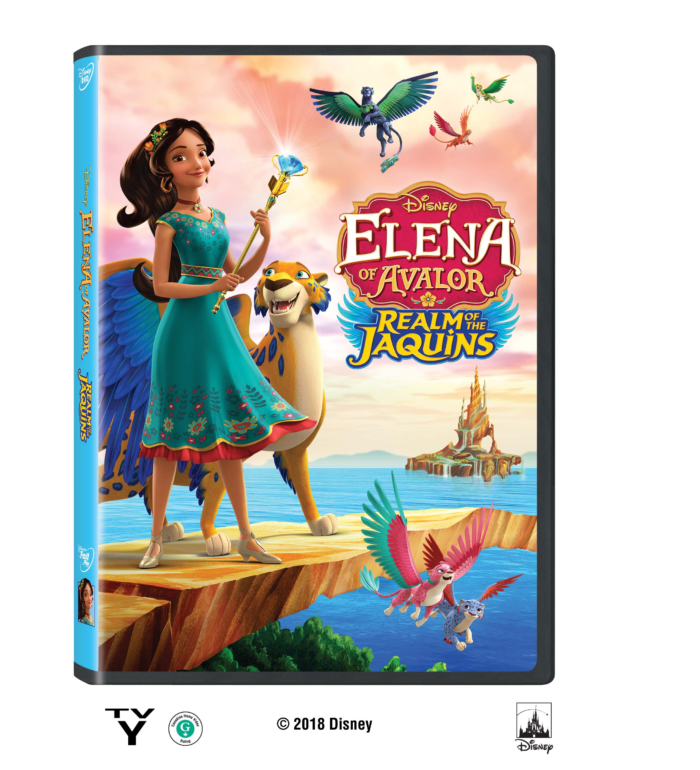 Elena of Avalor: Realm of the Jaquins on Disney DVD