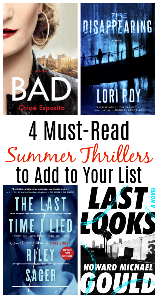 Must-Read Summer Thrillers