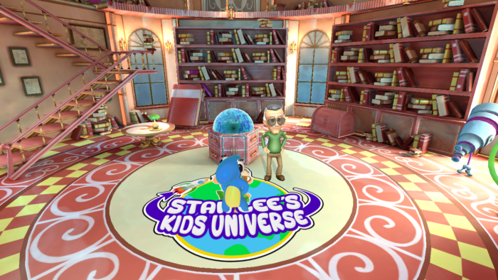 Playing Forward's Stan Lee's Kids Universe + Contest
