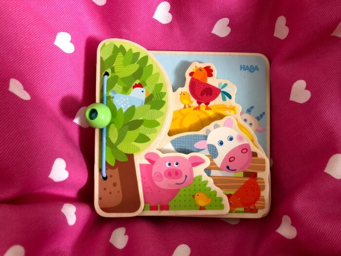 Farm Friends Baby Book from HABA