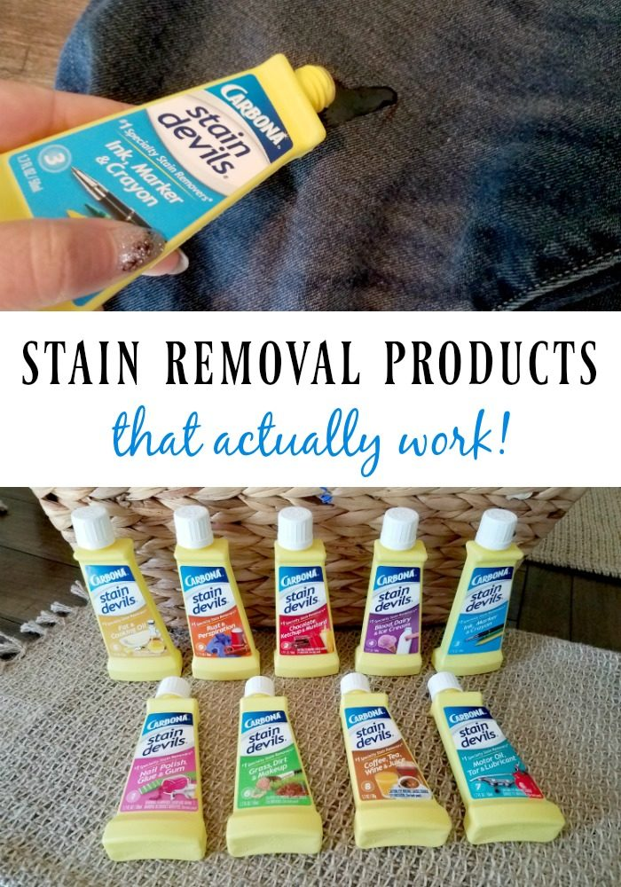 stain removal products Carbona