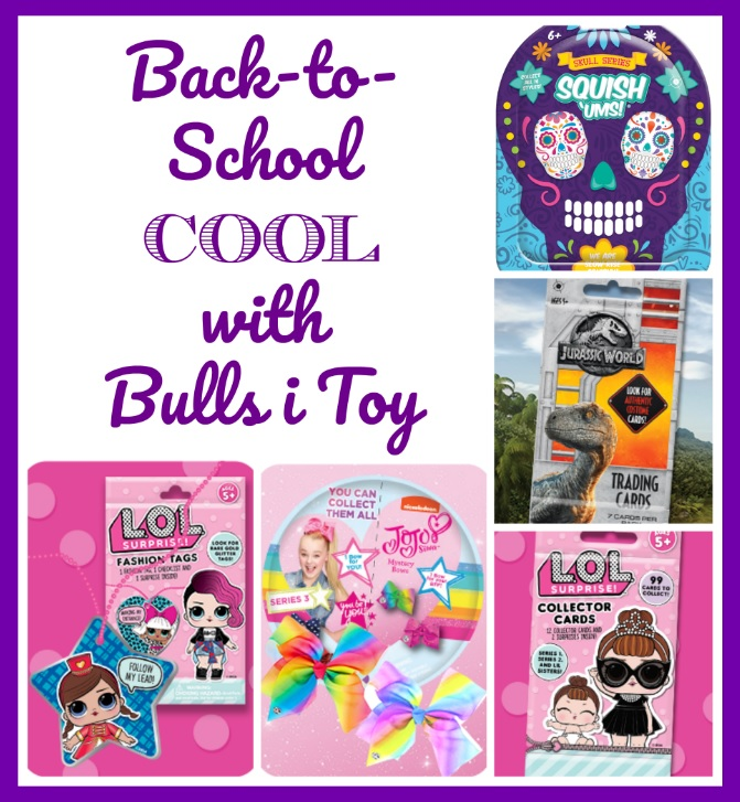 Back-to-School Cool with Bulls i Toy