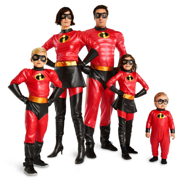 Incredibles 2 Family Costumes