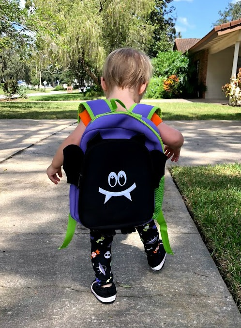 Animal Packers Backpacks are PERFECT for Trick-or-Treating!