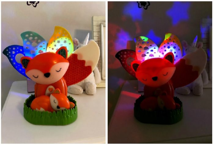 Put Toddler Bedtime Struggles to Sleep With The 2-in-1 Musical Soother & Night Light Projector