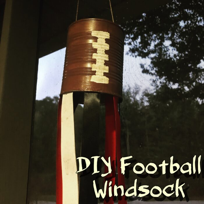 DIY Football Windsock