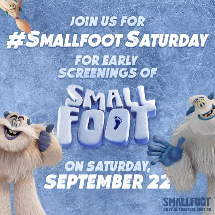 SmallFoot Movie is a Must-See With The Kids! #SmallFootSaturday