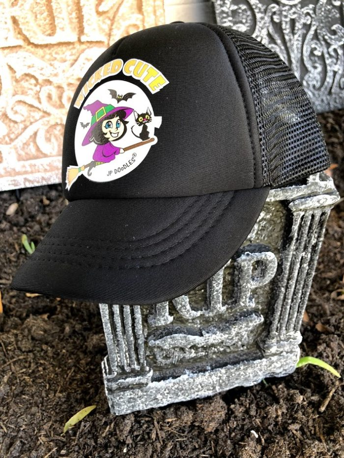 ADORABLE JP DOoDLES One-of-a-Kid Trucker Hats for Kids & Adults
