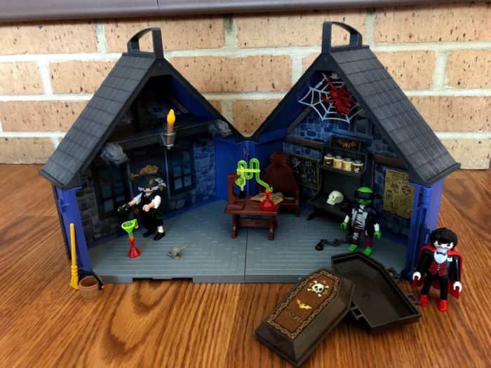 NEW Take Along Haunted House from PLAYMOBIL