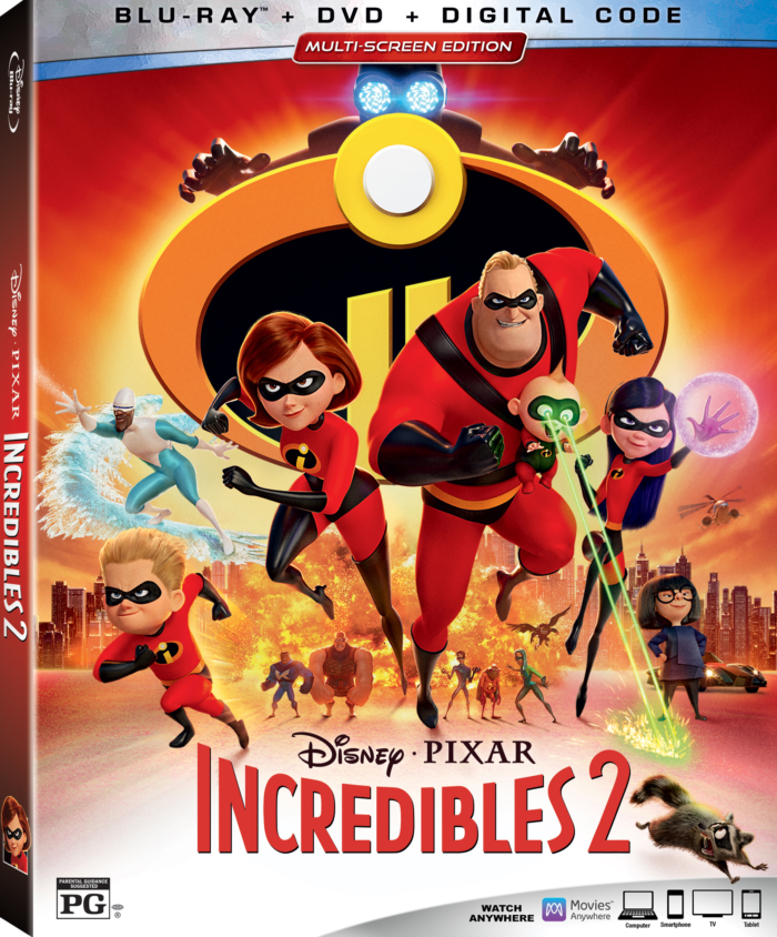 Bring Home Incredibles 2 on Digital, DMA & on Blu-ray 4K Ultra