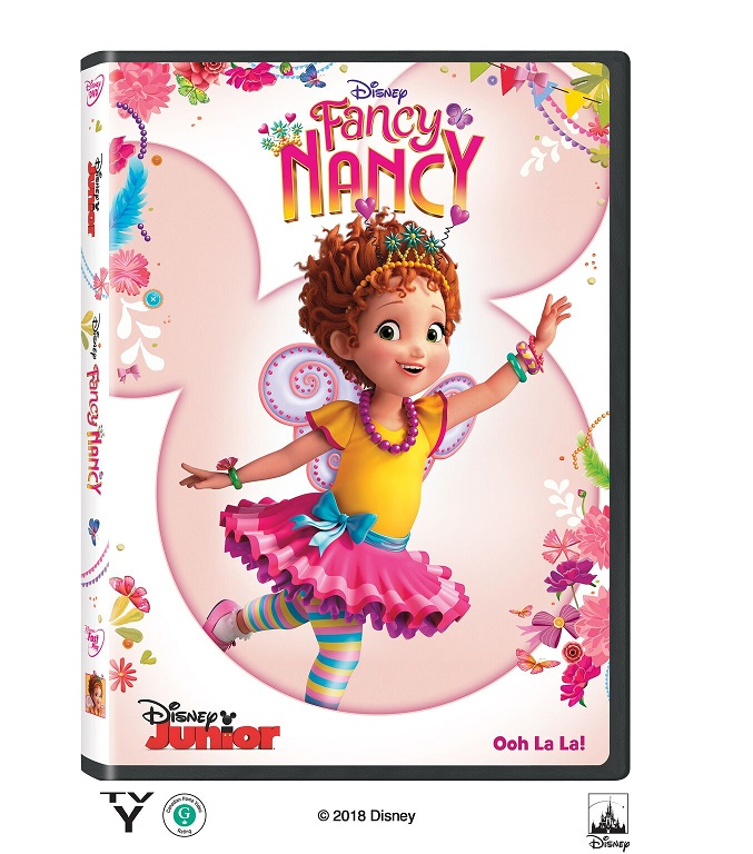 Fancy Nancy: Volume 1 on Disney DVD