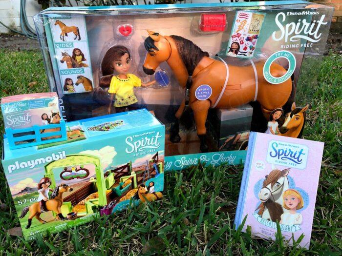 Spirit Riding Free Toys and Season 7 on Netflix