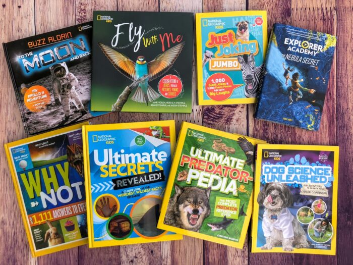 National Geographic Kids Adventure Books + Giveaway