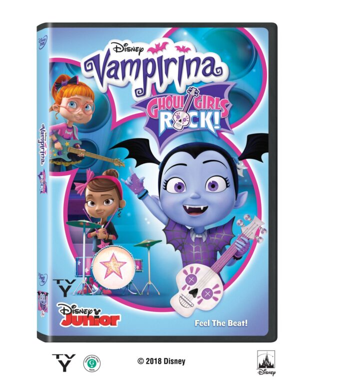 Vampirina Ghoul Girls Rock! on DVD November 6th