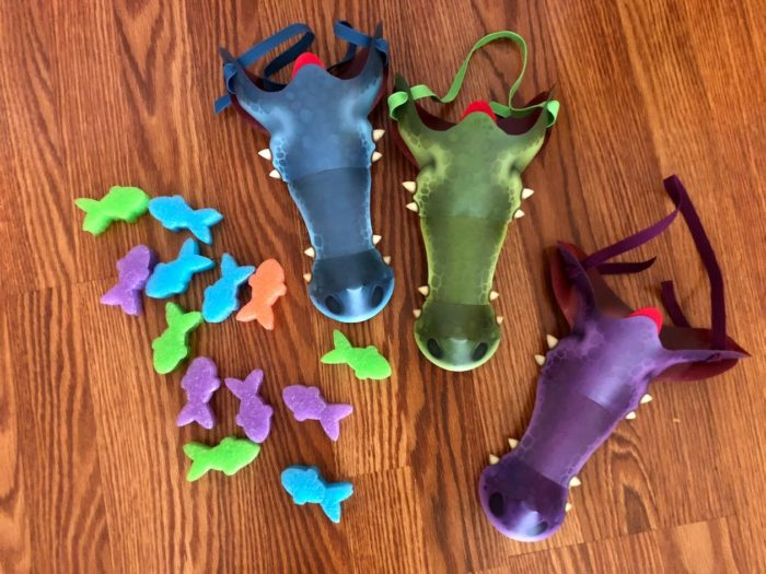 All NEW Chomp-Itz Crocodile Dinner Game
