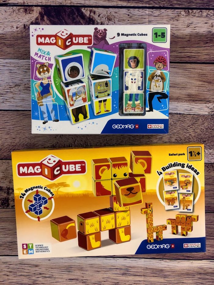 Magicube from Geomagworld is the Fun STEM Toy for Toddlers & Preschoolers