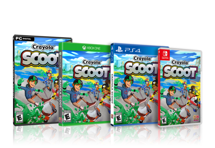 Crayola Scoot for PlayStation 4, Nintendo Switch, Xbox One & PC