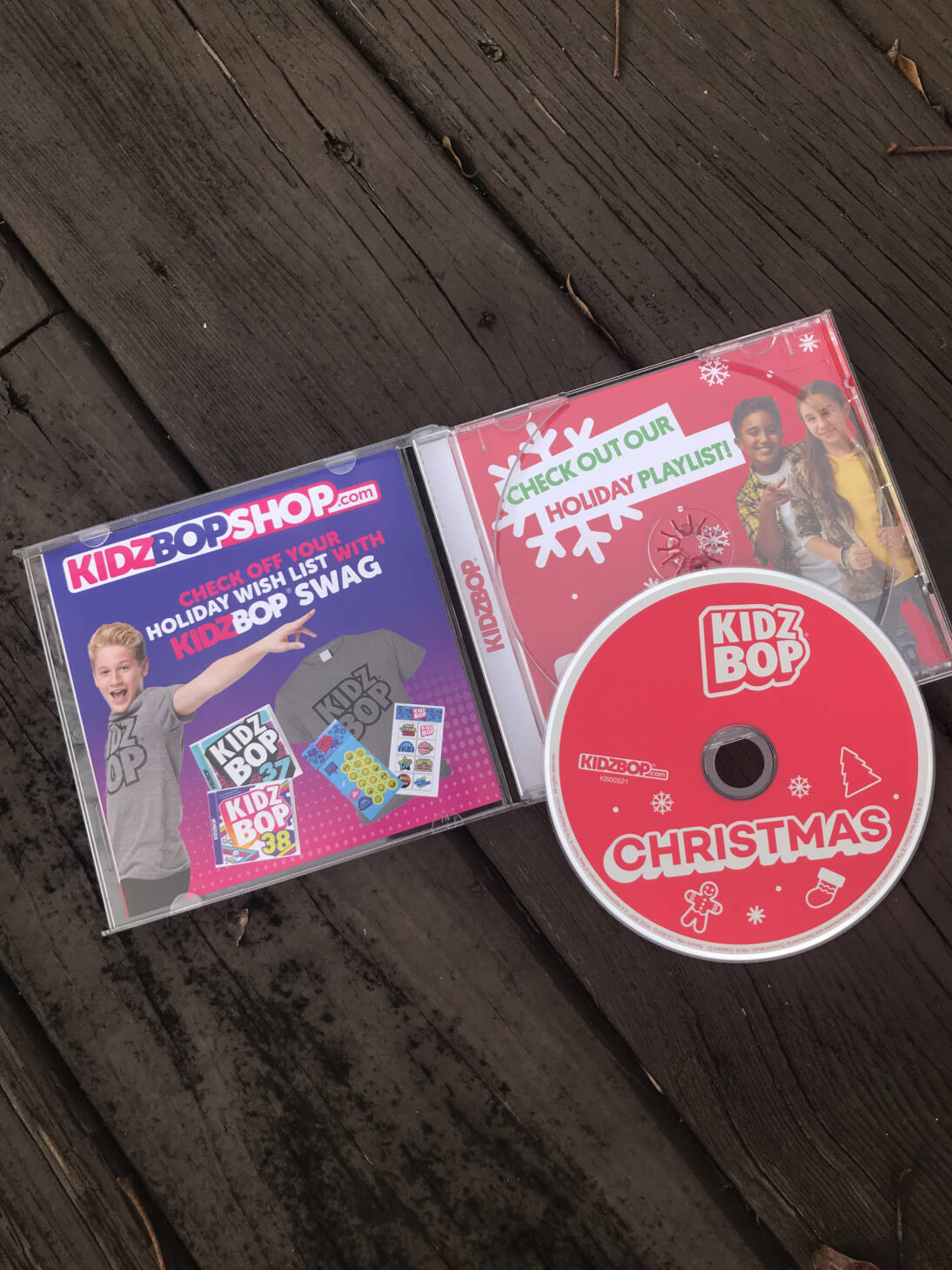 Kidz Bop Christmas CD Review - Outnumbered 3 to 1