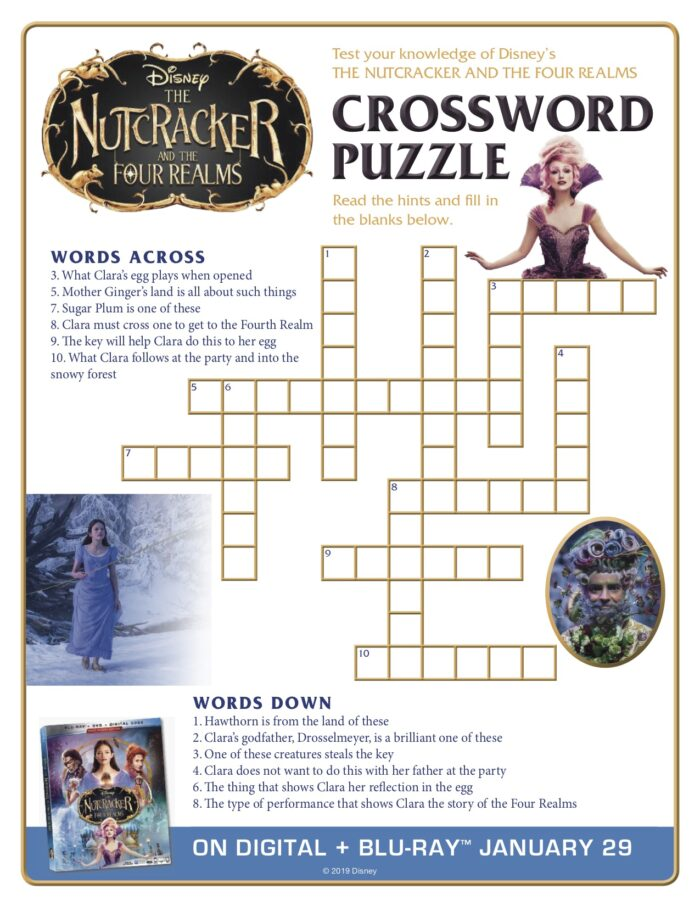 Happy National Puzzle Day! Celebrate With The Nutcracker and the Four Realms - Now Available on BD/Digital