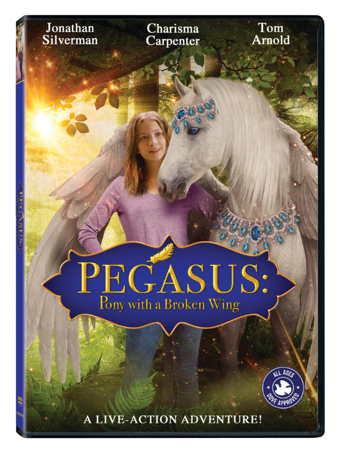 Pegasus: Pony with a Broken Wing arrives on DVD, Digital & On Demand