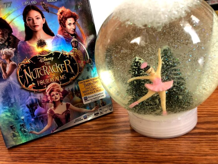 The Nutcracker and the Four Realms DIY Snow Globe
