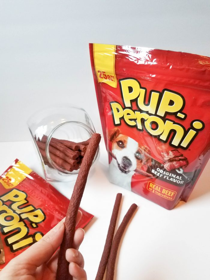 doing tricks for Pup-Peroni? treat
