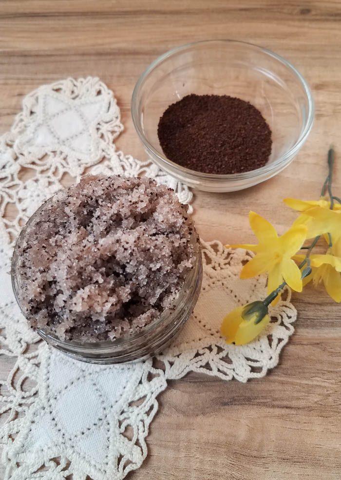 French Vanilla Coffee Sugar Scrub