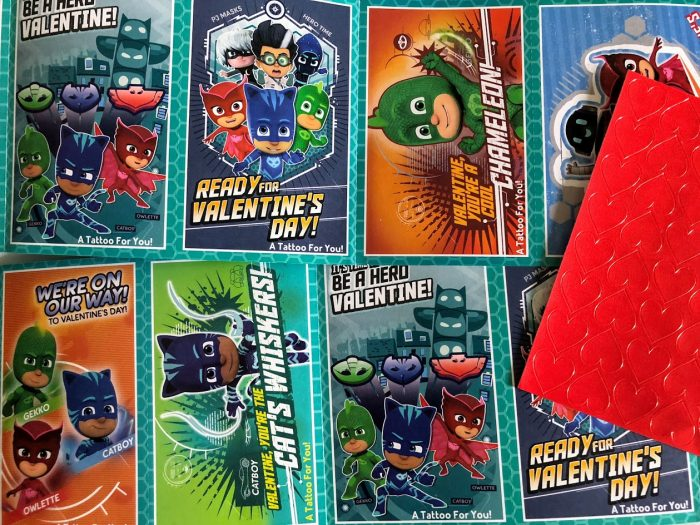 Super Cool PJ Masks Valentines for the Whole Class!