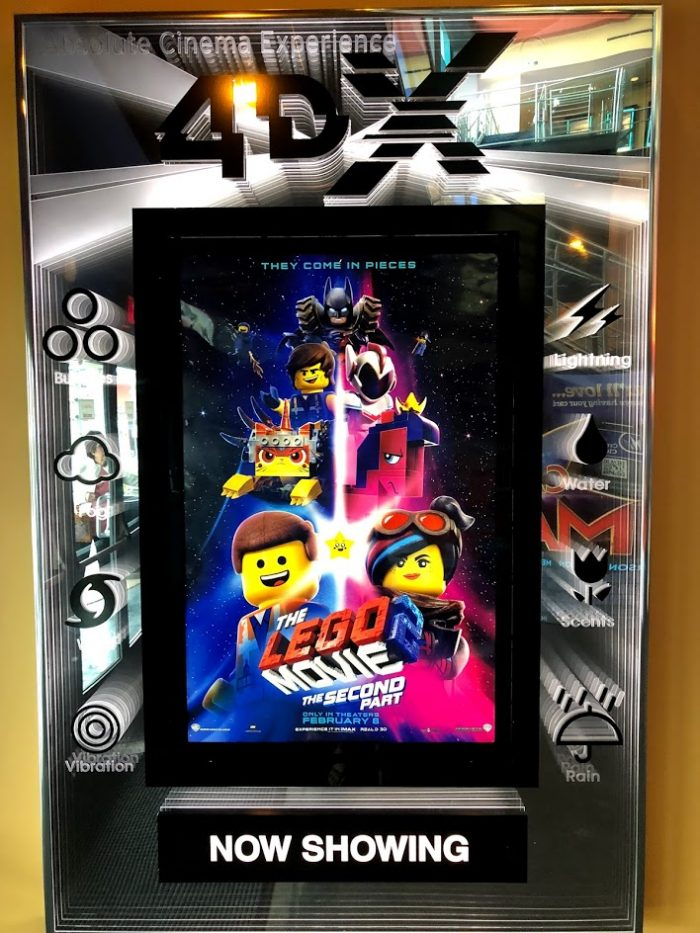 The Theater Experience Just got More Exciting With The Lego Movie 2: The Second Part in 4DX