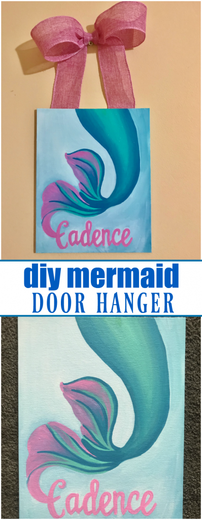 DIY Mermaid Door Hanger