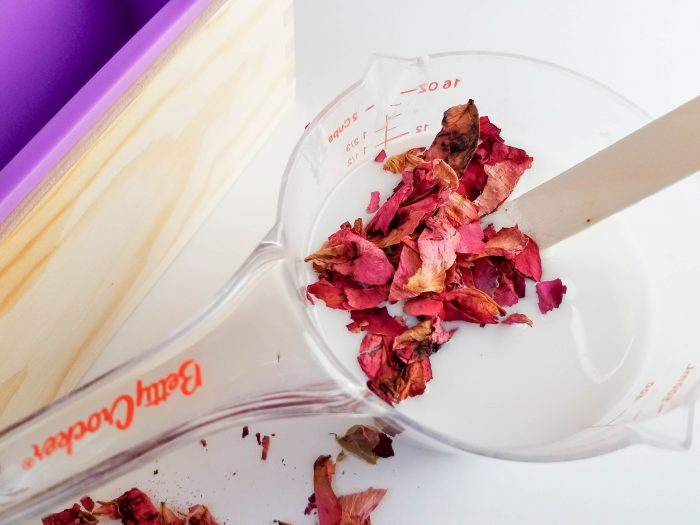 Coconut Rose Petal Soap