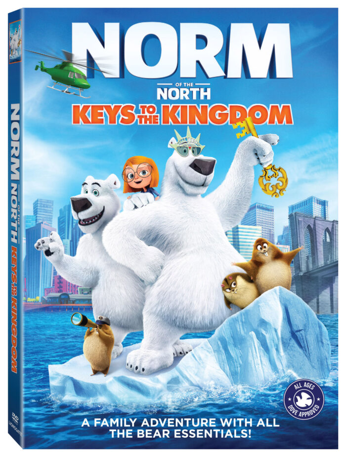 Norm of the North: Keys to the Kingdom arrives on DVD & Digital Feb12th from Lionsgate