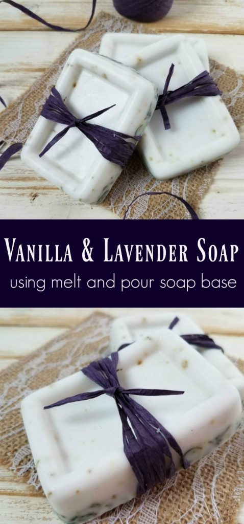 using melt and pour soap base