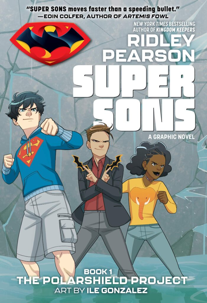 NEW Graphic Novel: Super Sons The PolarShield Project