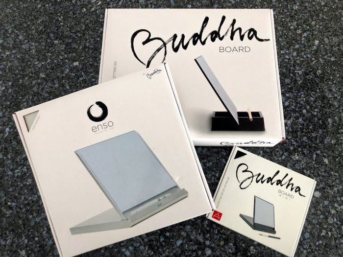 Take a Step Back and Relax with the Buddha Board