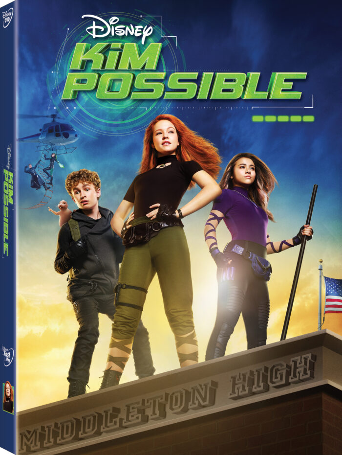 KIM POSSIBLE: High School Makes Saving the World Look Easy! on Disney DVD March 26th