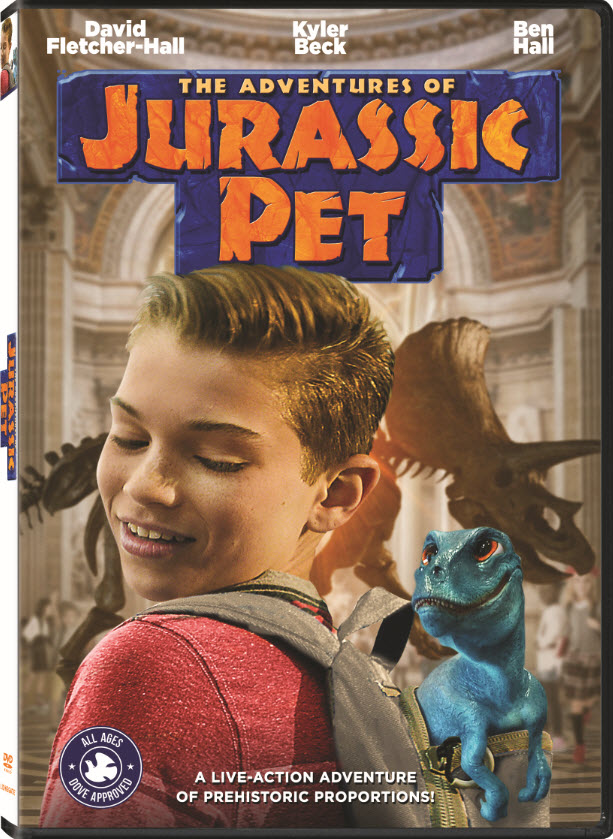 The Adventures of Jurassic Pet on DVD, Digital & On Demand