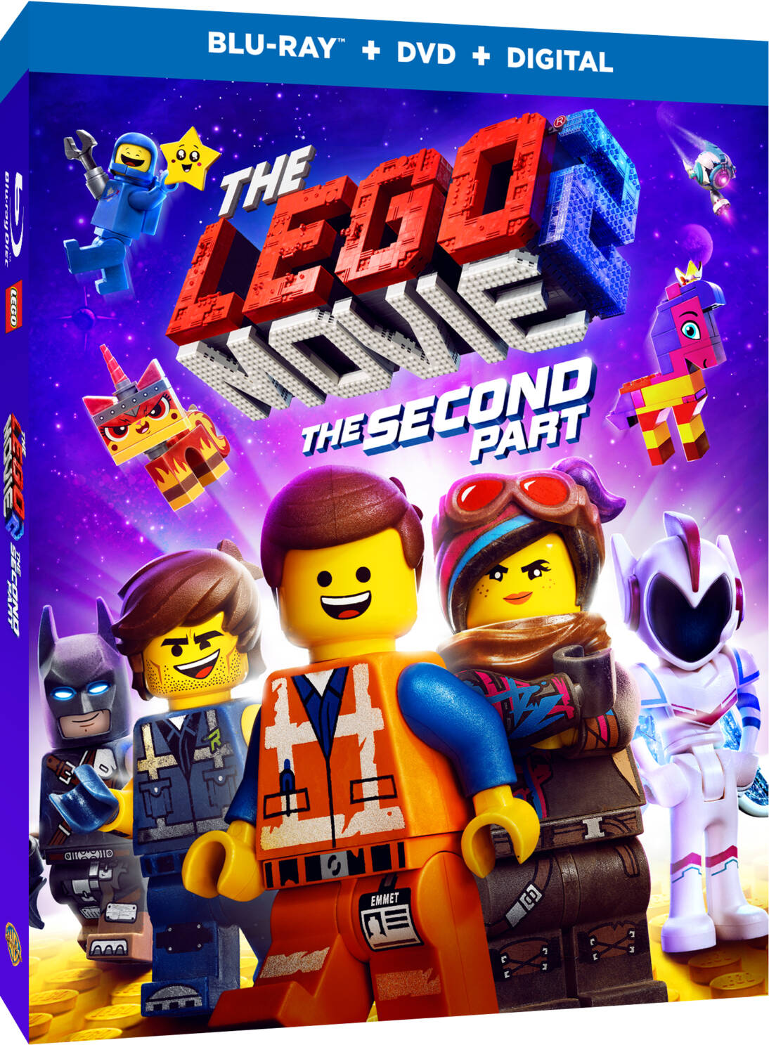 The Lego Movie 2 The Second Part On Blu Ray Dvd Digital Giveaway Outnumbered 3 To 1