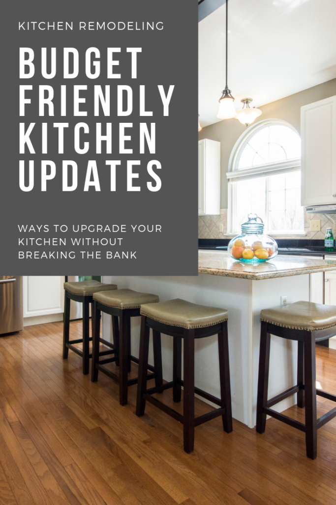 Budget Friendly Kitchen Upgrades Ideas - Outnumbered 3 to 1