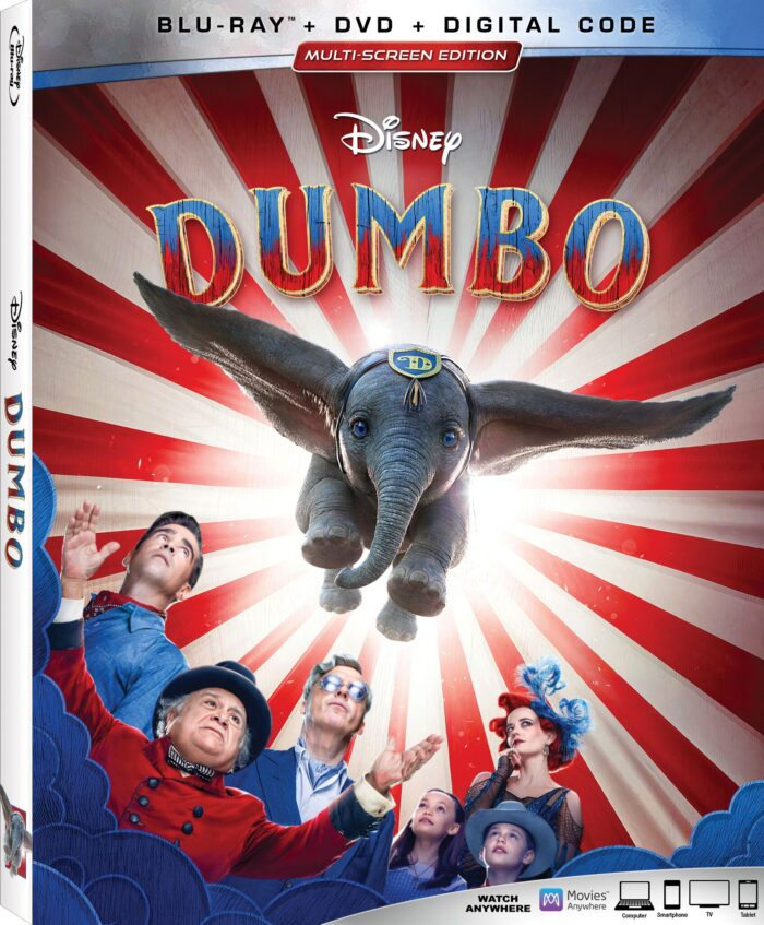 Disney's Live-Action Adventure Dumbo Arrives on Blu-ray, DVD & Digital